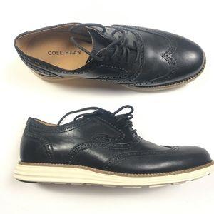 Cole Haan Original Grand Wingtip Oxfords Black